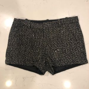 GAP Sequin Tweed Shorts